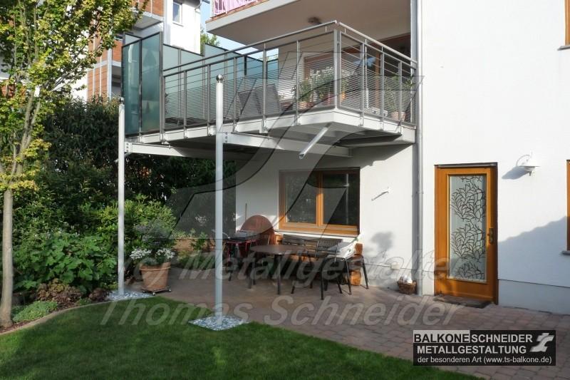 metal balkonvergr erungen von thomas schneider aus. Black Bedroom Furniture Sets. Home Design Ideas